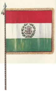 The first tricolor flag in 1797