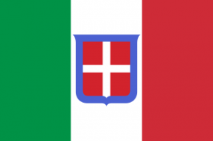 Flag during Italian Kingdom