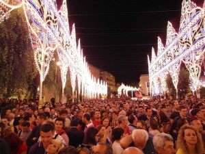 Climax of the Festa della Madonna della Bruna
